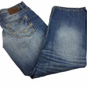 BKE DENIM Buckle Men's Seth Bootcut Jeans size 36L